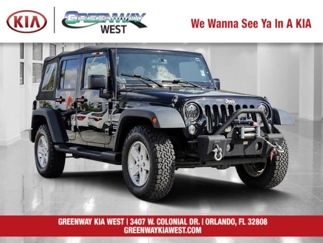 Used 2017 Jeep Wrangler 4WD Unlimited Sport Orlando, FL