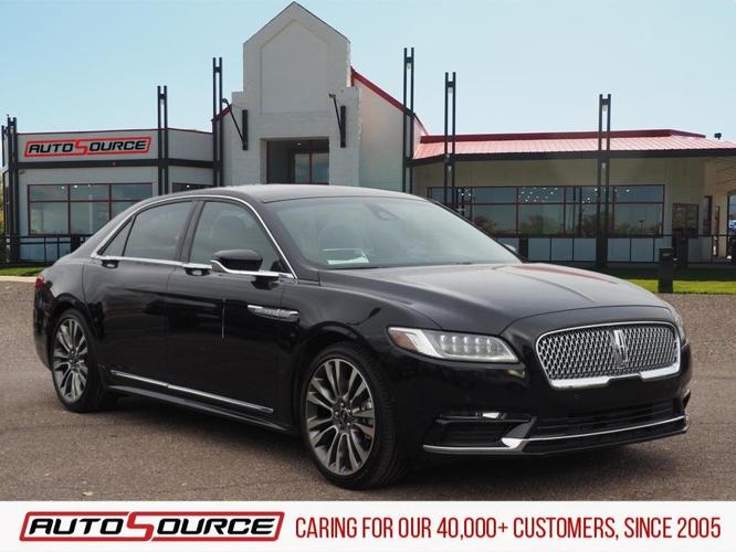 Used 2017 Lincoln Continental Reserve Colorado Springs,