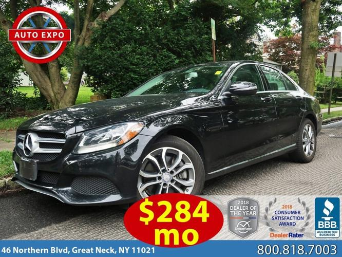 Used 2017 Mercedes-Benz C 300 4MATIC Sedan Great Neck,