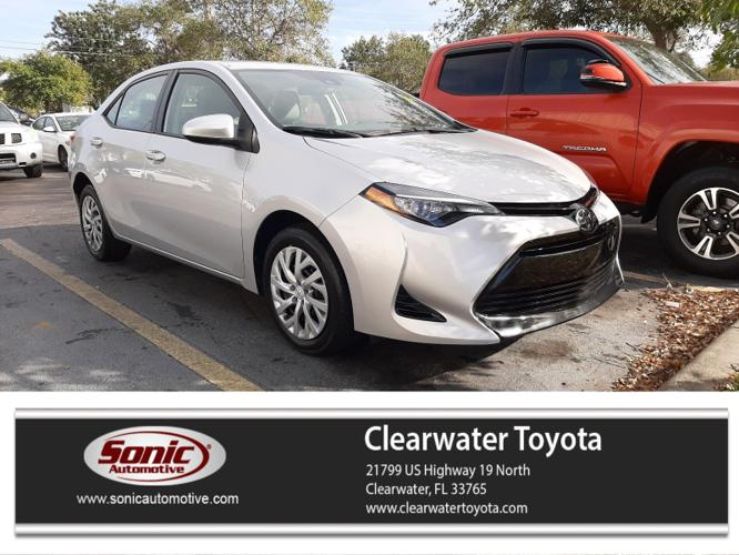 Used 2017 Toyota Corolla LE Clearwater, FL 33765