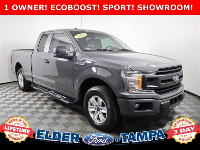 Used 2018 Ford F150 2WD SuperCab XLT Tampa, FL 33612