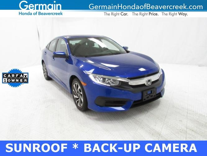 Used 2018 Honda Civic EX Sedan BEAVERCREEK, OH 45434