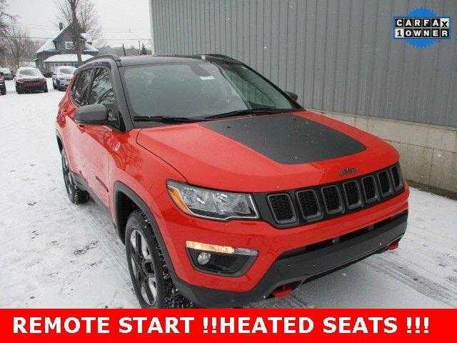 Used 2018 Jeep Compass 4WD Trailhawk Cadillac, MI 49601
