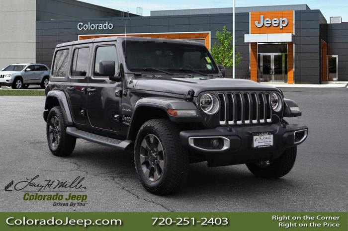 Used 2018 Jeep Wrangler 4WD Unlimited Sahara AURORA, CO