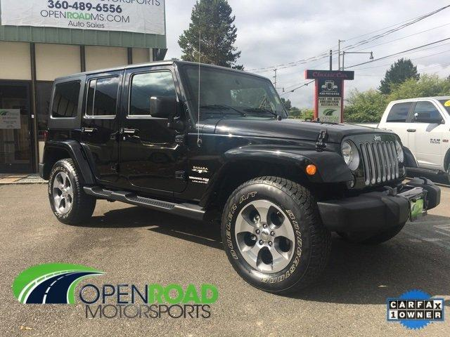 Used 2018 Jeep Wrangler JK 4WD Unlimited Sahara