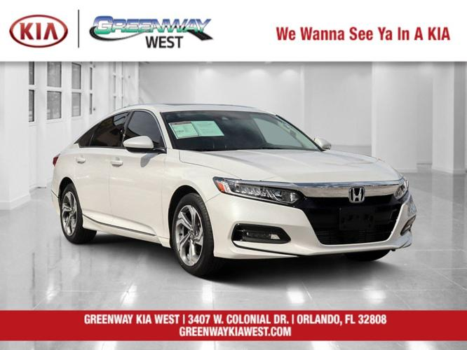 Used 2019 Honda Accord 1.5T EX Orlando, FL 32808