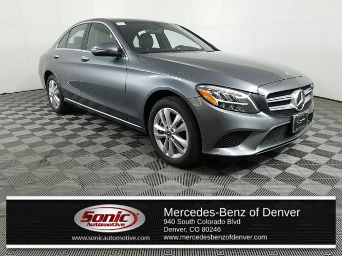 Used 2019 Mercedes-Benz C 300 4MATIC Sedan Denver, CO