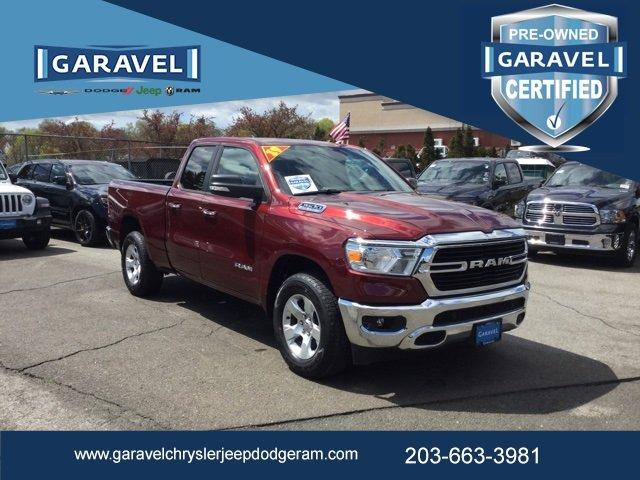 Used 2019 RAM 1500 4x4 Quad Cab Big Horn NORWALK, CT