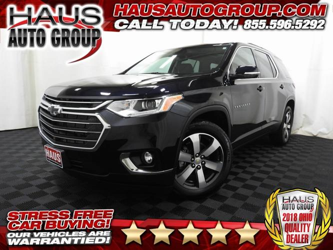 Used 2020 Chevrolet Traverse AWD LT Canfield, OH 44512