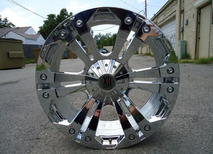 "USED 24"" CHROME RIMS, XD MONSTER, SILVERADO 2500, SIERRA ..."