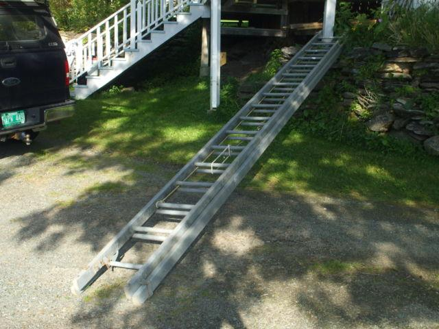 Used 40 foot wooden ladder for sale