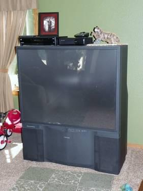 Used 50 U0026quot  Theater View Toshiba Rear Projection Tv For Sale