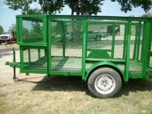 Used 6x10 Landscape Trailer W Box Kemp Tx For Sale In