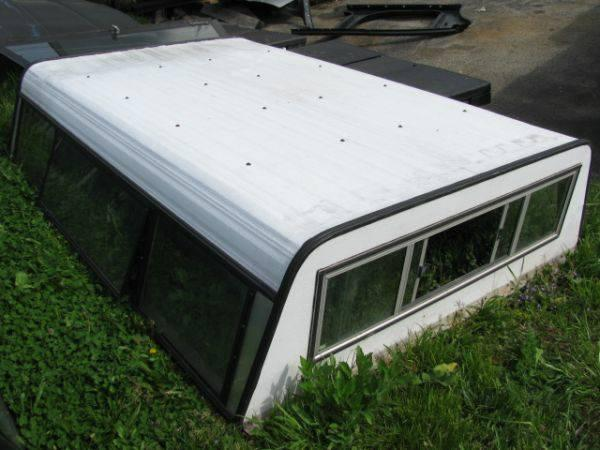 Tom Clark Chevy >> Used 8 ft White Century Aluminum Truck Cap - for Sale in McKeesport, Pennsylvania Classified ...