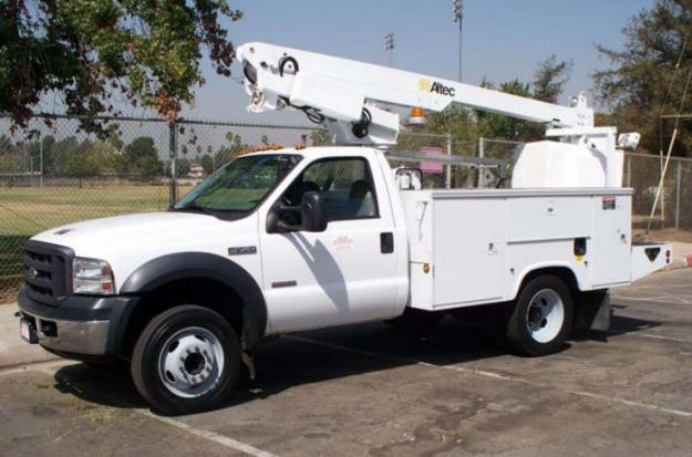 used altec at200a 2005 ford f450 4x2 bucket truck for sale in rhode island for sale in colona. Black Bedroom Furniture Sets. Home Design Ideas
