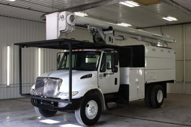 Single Cab Diesel For Sale >> Used Altec LRV55-2003 International 4200 4x2 Forestry ...