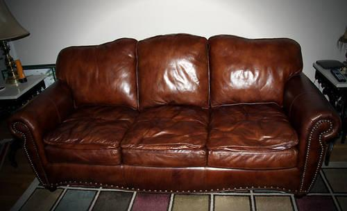 used brown leather sofa for sale in memphis tennessee classified. Black Bedroom Furniture Sets. Home Design Ideas