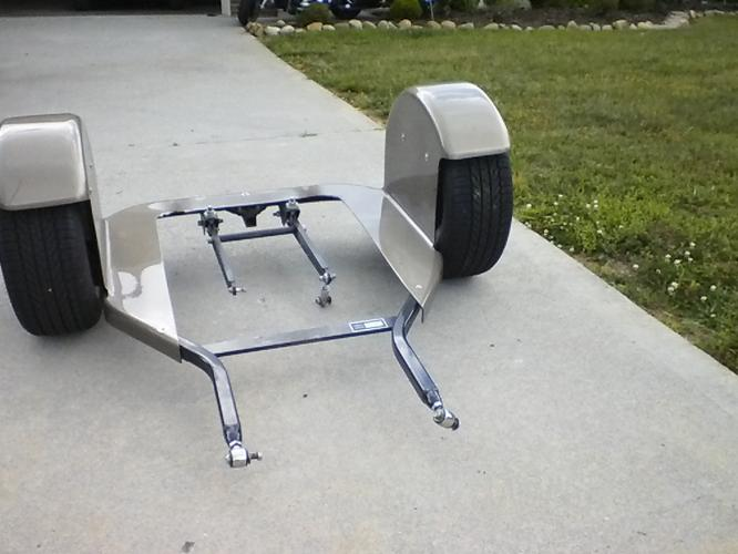 used conversion trike kit for a Harley Davidson road king