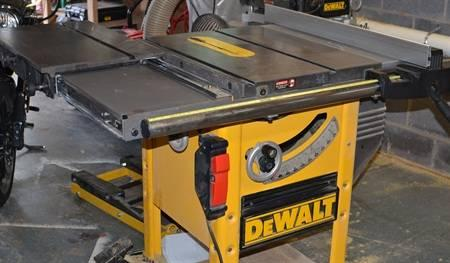 Used Dw746 Table Saw With Cast Iron Sliding Table For Sale In Johnson City Tennessee