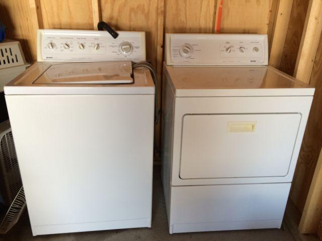 Used electric kenmore washer/dryer
