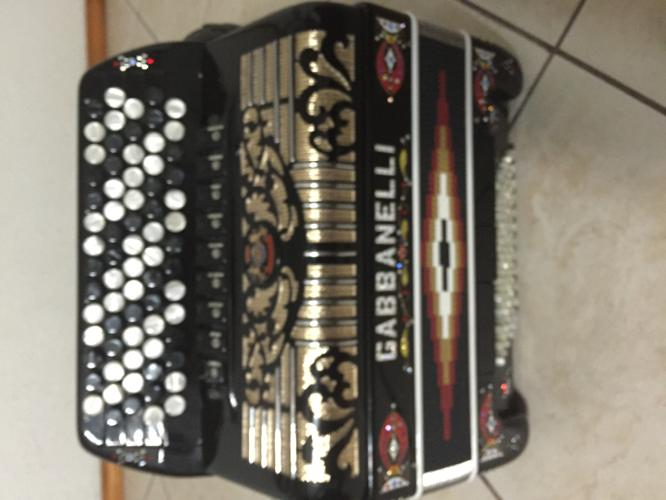 Used Gabbanelli Chromatic Accordion