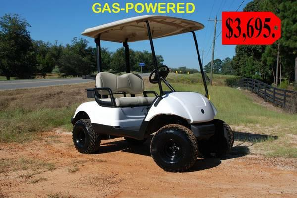 Used Golf Cart Lifted
