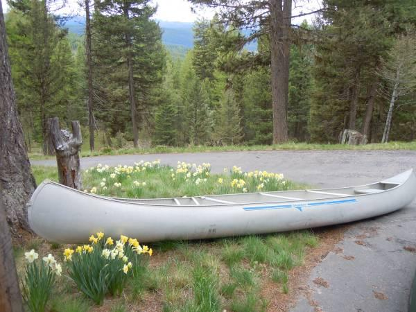 Used Grumman 17 Standard Canoe - $600