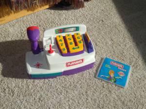 Used Hasbro Playskool Store Cash Register Cd Rom Playset