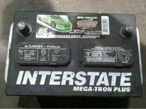 Used Interstate Battery Mtp 24f Has 18 Months Free
