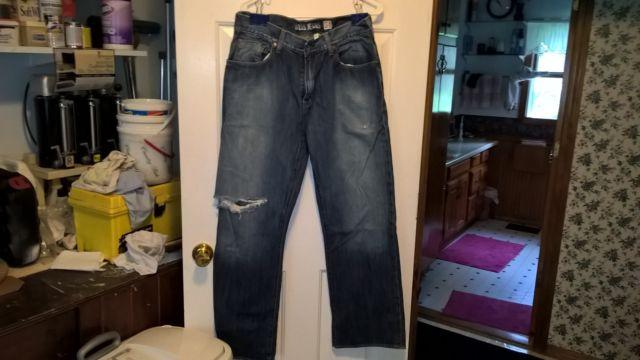 Used mens guess jeans size 34X30