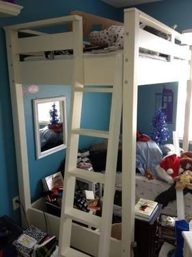 Used Pottery Barn Loft Bed For Sale In San Diego