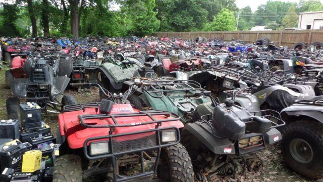 Used/Salvage ATV  4 Wheeler Parts