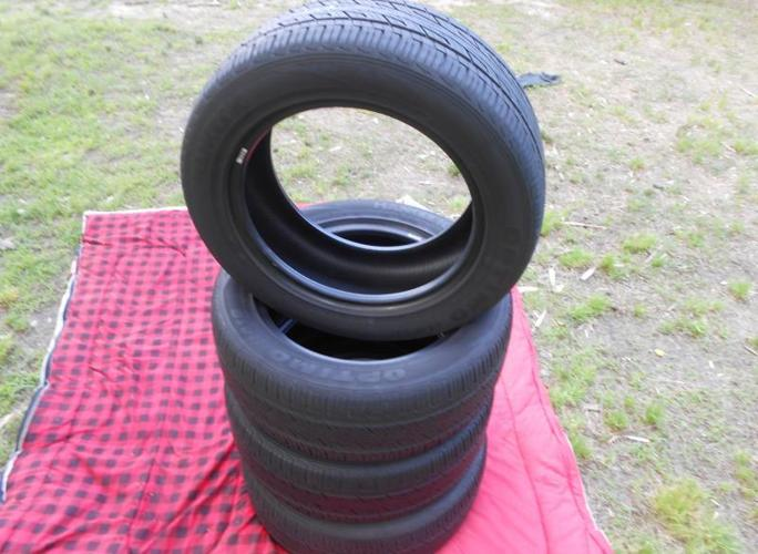 used set of P215/55R16 91H tires
