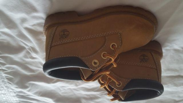 Used Timberland boots for toddler and boys