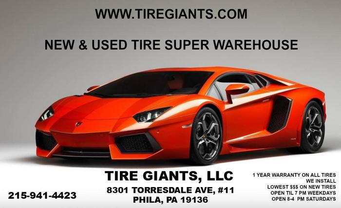 Used Tire Sale 14, 15, 16, 17, 18, 19 & 20 Inch Tires*
