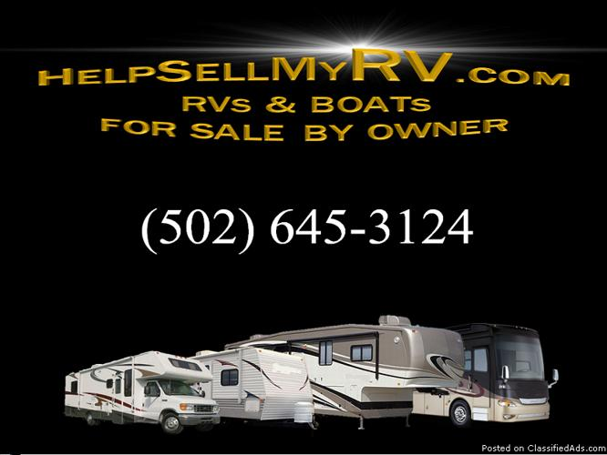 Used travel trailers, for sale by owner,