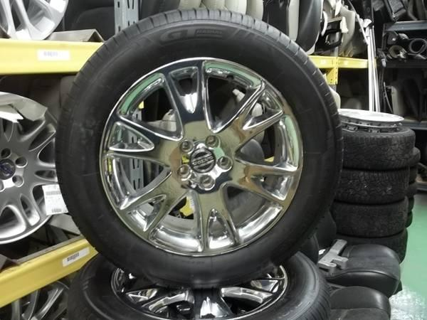 USED VOLVO WHEELS AND TIRES - $1025