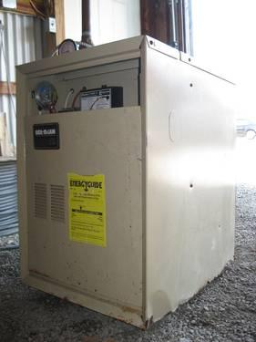 Used Weil-McLain Gold CGi Integrated Water Boiler Model 1107-1 for ...