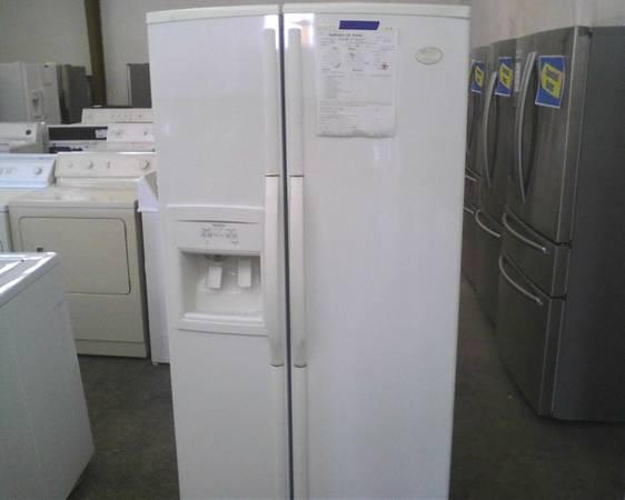 Used, Whirlpool Side By Side Refrigerator, Great unit, Amazing Price - $449