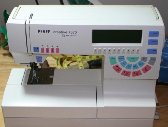 pfaff creative 7560 sewing embroidery machine
