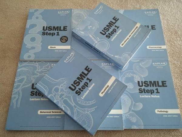 USMLE study books Kaplan notes Goljan Pathology - $10