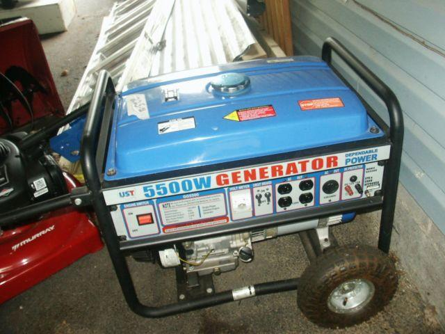 UST GG-5500 SERIES GAS GENEATOR