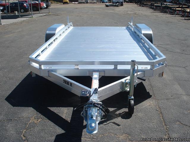 Utility Trailers Tandem Axle Aluminum Trailers Quad