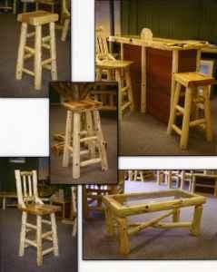 Beau V Groove Paneling, Flooring, Cedar Log Furniture