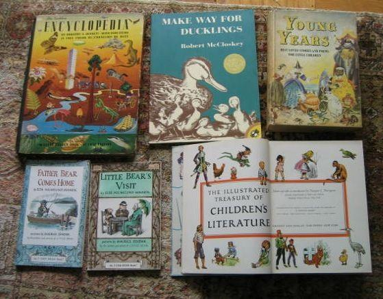 v LITERATURE CLASSICS FOR CHILDREN - vintage, bedtime