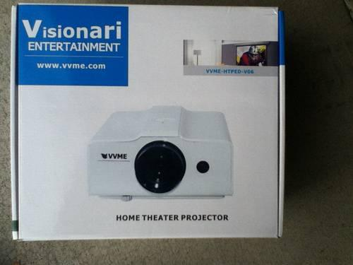 V06w Lcd Home Theater Projector New For Sale In Blyn Washington