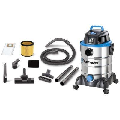 Vacmaster 6 gal. Stainless Steel Wet/Dry Vac with