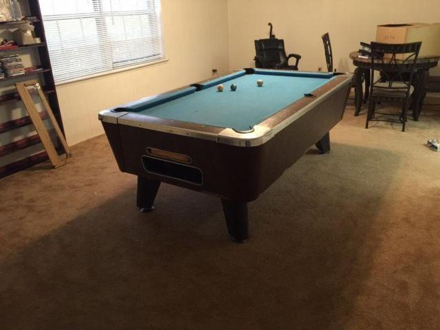 Valley Slate Pool Table Bar Size Only For Sale In Carrollton Texas - Valley bar pool table for sale