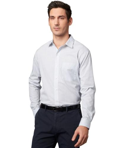 Van Heusen Shirt, Long-Sleeve Assorted Blues Group