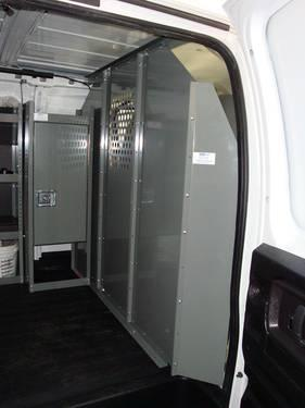 Van safety partition/bulkhead for cargo van